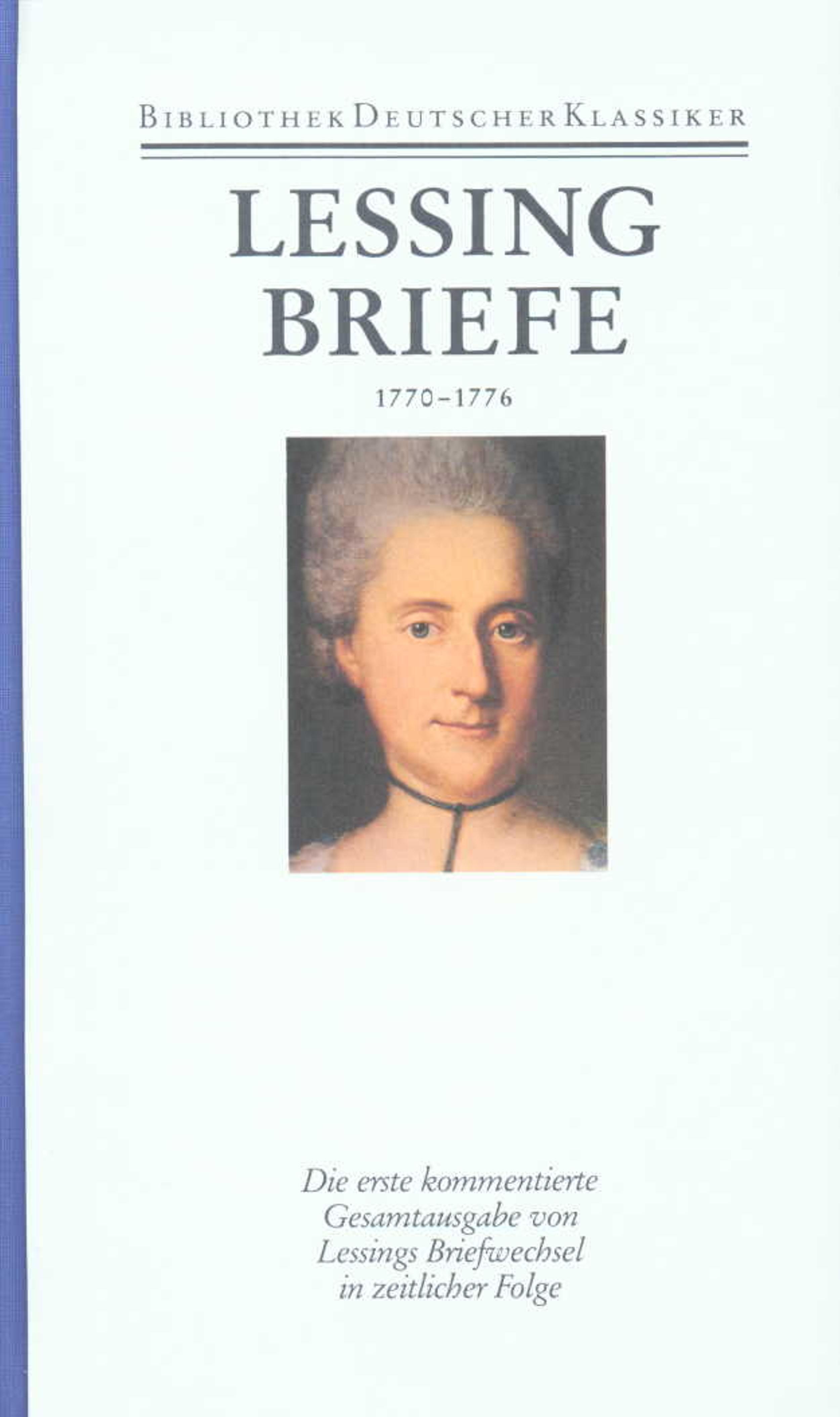 Briefe Von Lessing : Werke und briefe in bänden band von