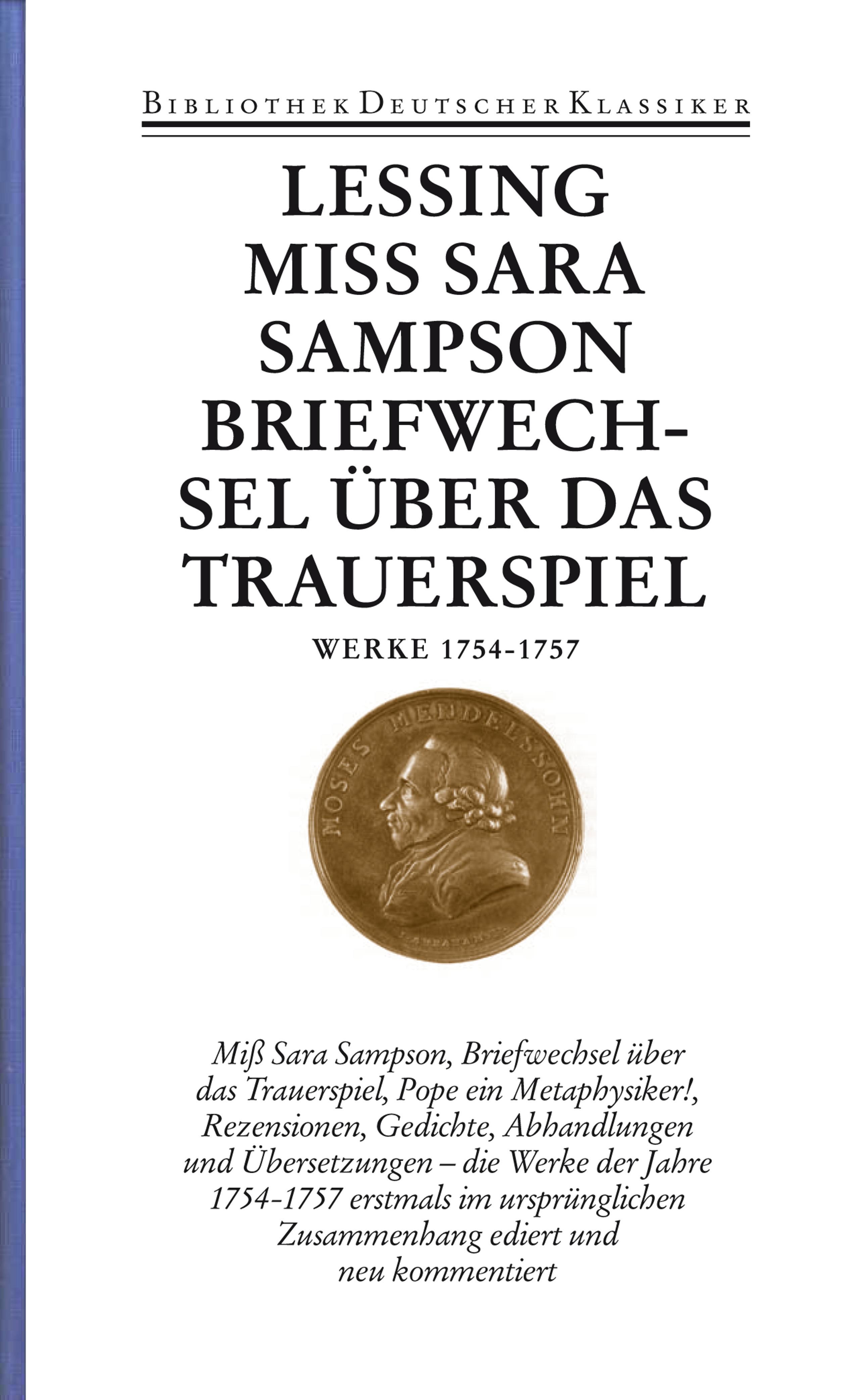 Briefe Von Lessing : Werke und briefe in bänden band