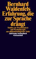 Erfahrung, die zur Sprache drängt - Studien zur Psychoanalyse und Psychotherapie aus phänomenologischer Sicht Book Cover