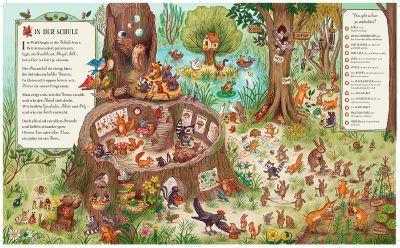 innenabbildung zu Wer wohnt denn da im tiefen Wald?