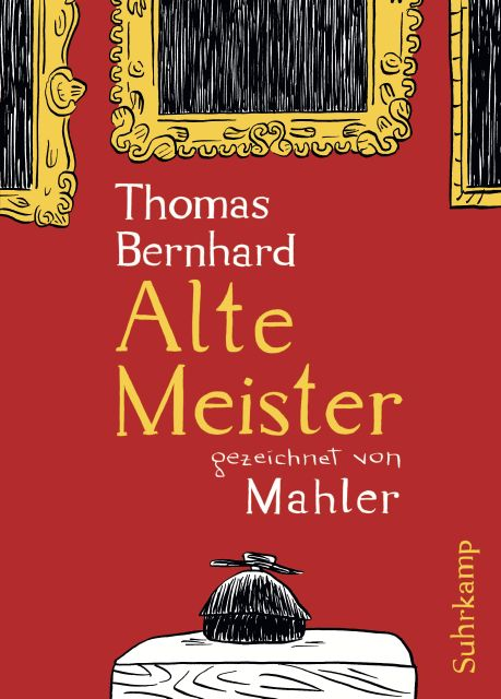 Old masters cartoons by mahler von thomas bernhard suhrkamp old masters cartoons by mahler fandeluxe Gallery