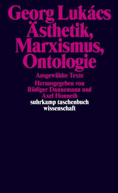 U1 zu Ästhetik, Marxismus, Ontologie