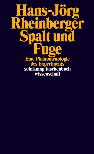 Spalt und Fuge: Eine Phänomenologie des Experiments Book Cover