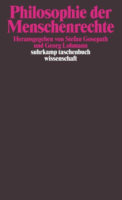 Inhaltsverzeichnis Von Philosophie Der Menschenrechte Hg Georg. Moralische  Ansprüche. ...