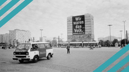 Mauerfall und Wiedervereinigung: Buchtipps, Beiträge und Interviews