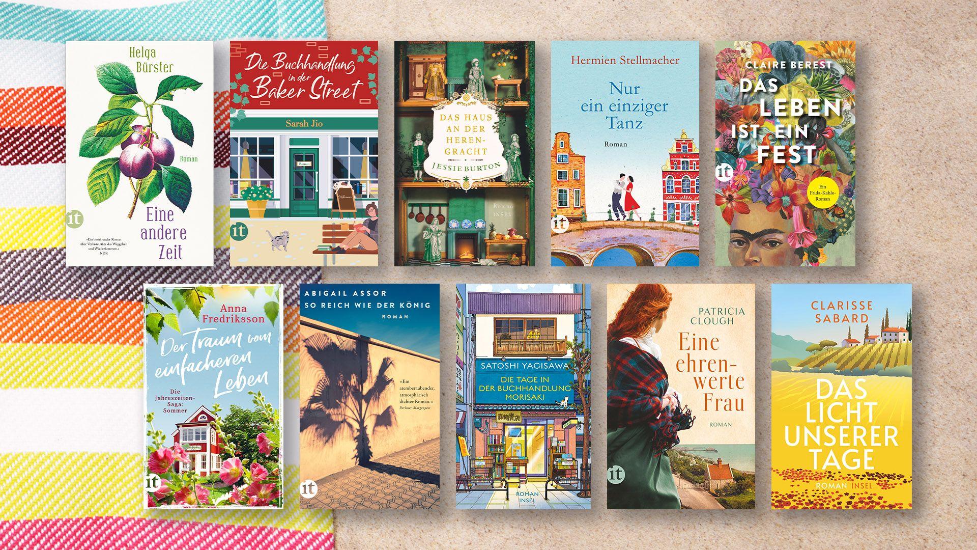 Sonne, Sommer, gute Bücher: 7 Lektüretipps für den perfekten Urlaub