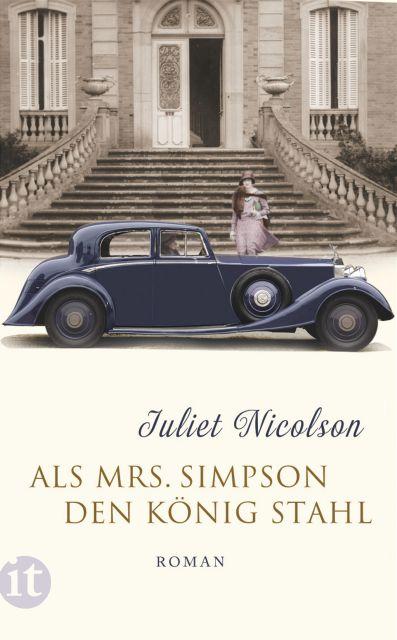 """""""Als Mrs. Simpson den König stahl"""" von Juliet Nicolson, Roman"""