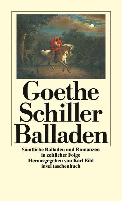 Sämtliche Balladen Und Romanzen In Zeitlicher Folge Von